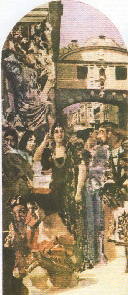 М. Врубель. Венеция. Масло. 1893.