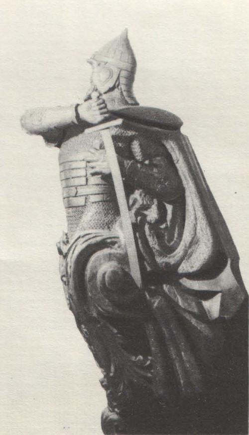 М. Микешин. Носовое украшение фрегата «Князь Пожарский». 1865.