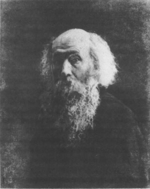 Н. Ге. Автопортрет. Масло. 1892.