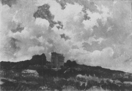 Н. Ге. Облака. Фраскати. Этюд. Масло. 1859.
