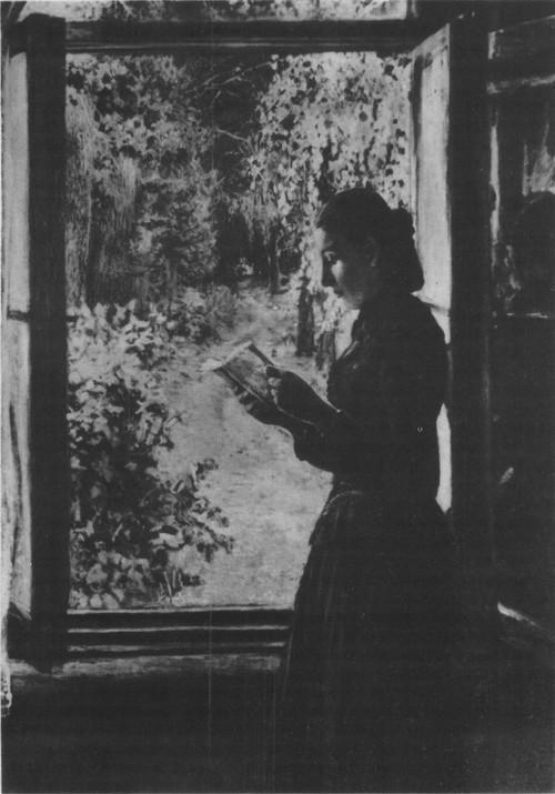 Н. Ге. Портрет Н. И. Петрункевич. Масло. 1893.