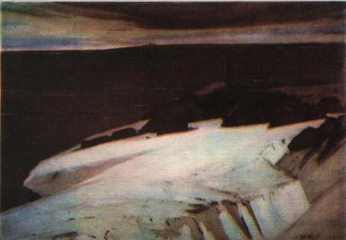 Н. Лой. Северные рубежи. Масло. 1965.