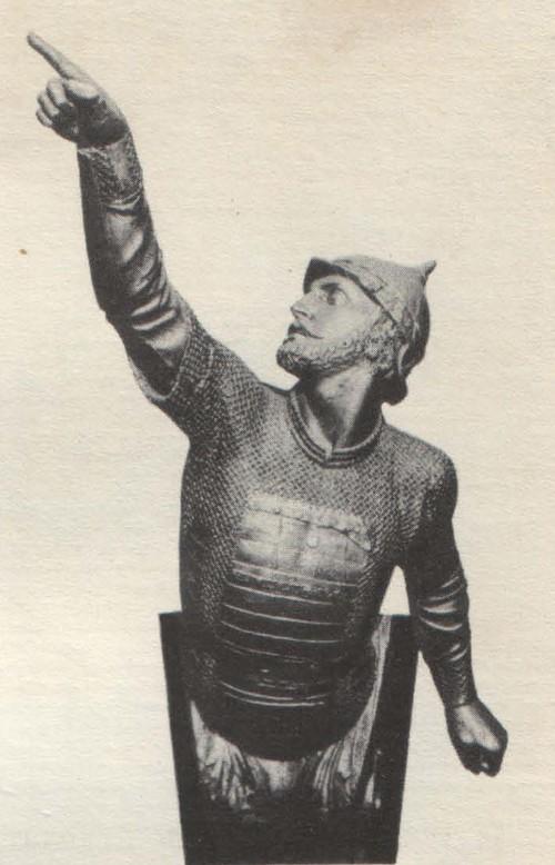 Н. Пименов. Носовое украшение винтового фрегата «Дмитрий Донской». 1861.