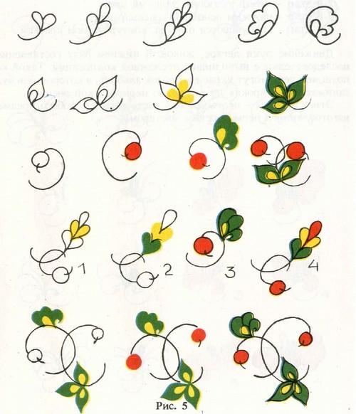 Округлые листья, ягодки