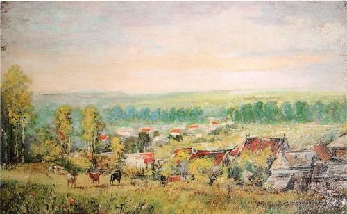 Осенний пейзаж. 1895
