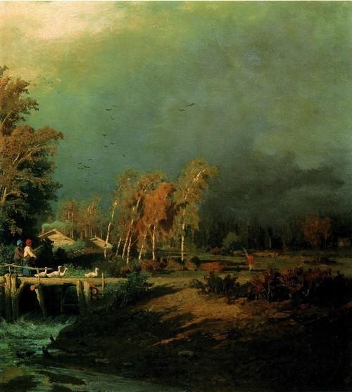 Перед дождем. 1870