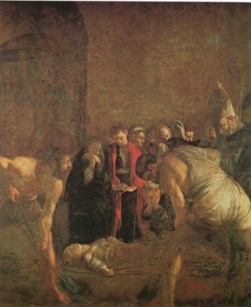 Погребение Святой Лючии. Деталь 408 х 300 см Сиракузы, Церковь Санта Лючия