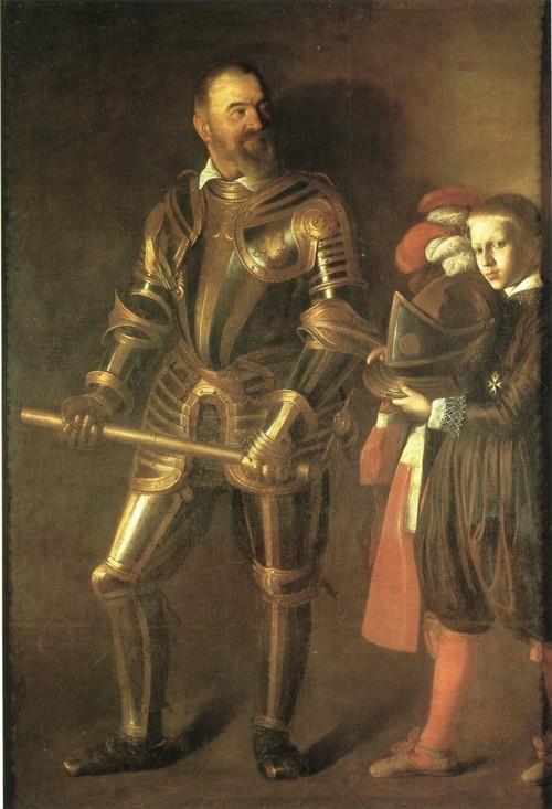 Портрет Алофа де Виньянкур 195 х 134 см Париж, Лувр