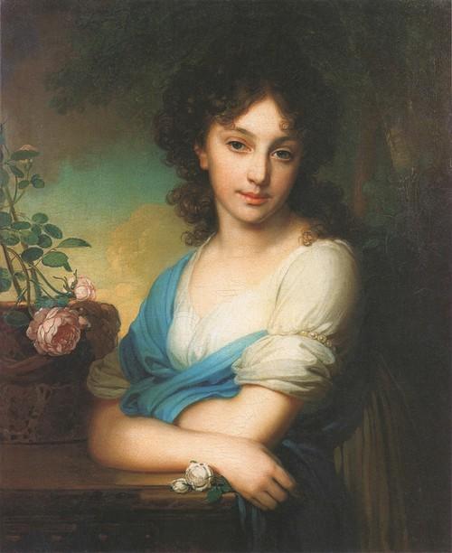 Портрет Елены Александровны Нарышкиной. 1799