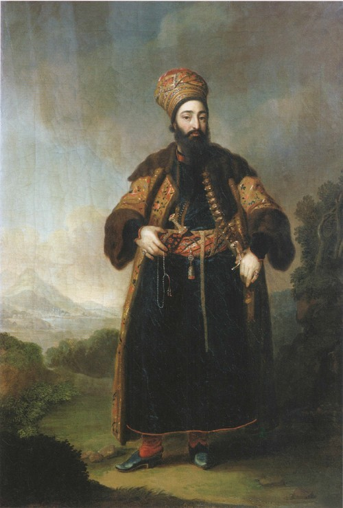 Портрет Муртазы-Кули-хана. 1796