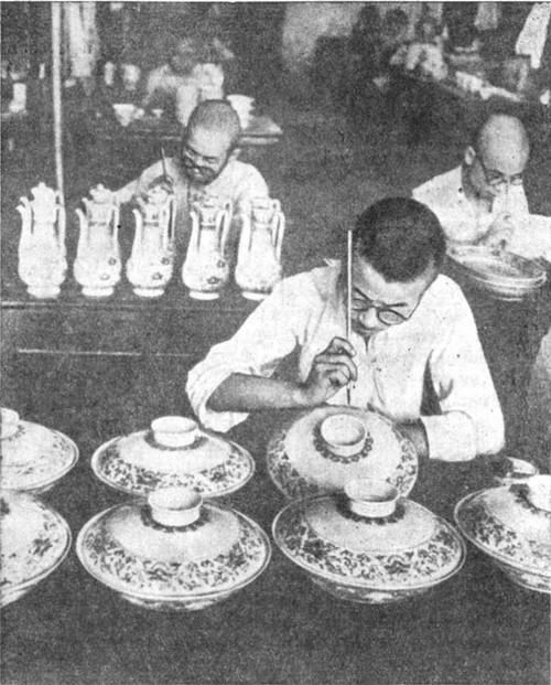 Фарфор в искусстве Китая
