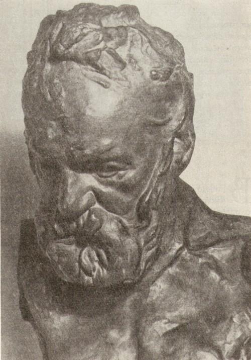 Роден. портрет Виктора Гюго