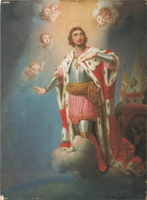 Святой Александр Невский . Икона