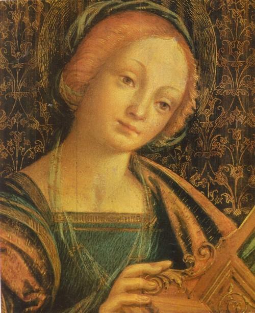 Св. Цецилия с Донатором Около 1480—1546