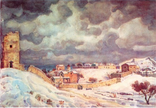 Феодосия зимой. 1940-е