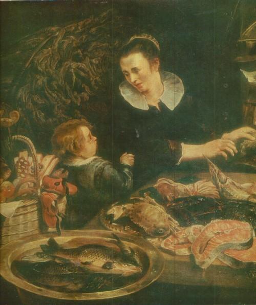 Франс Снейдерс Рыбная лавка. 1579—1657. Холст, масло. 1,35 X 2,04