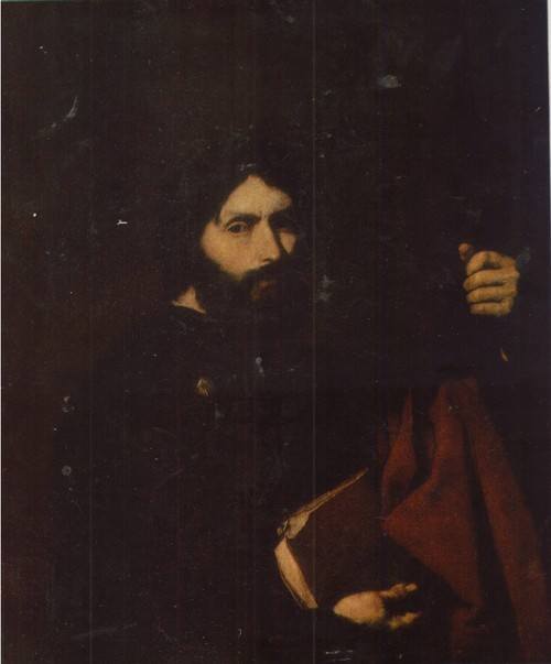 Хосе де Рибера Картина Апостол Иаков Старший. 1647 Холст, масло. 0,76 х 0,64
