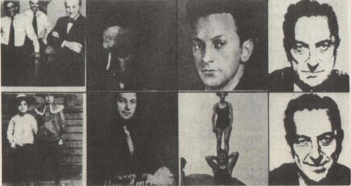Э. Уорхол. 7 десятилетий Сиднея Яниса. 1967. Шелкотрафаретная печать.