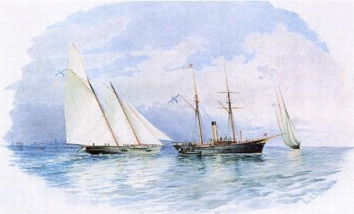 Яхта Забава 1860-1884. Императорская яхта Славянка 1874-1887. Императорская яхта Королева Виктория 1846-1884