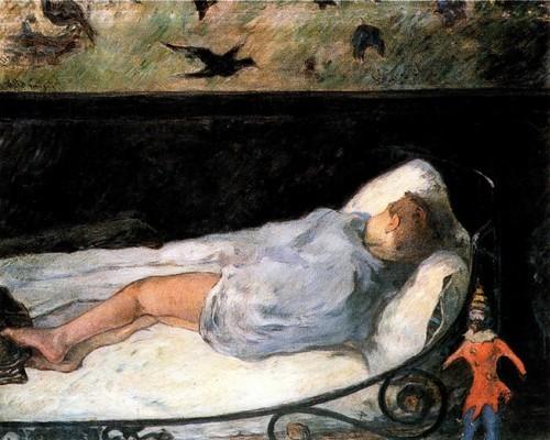 Детские сны «La petite reve» Сон ребенка. 1881 Копенгаген Картинная галерея