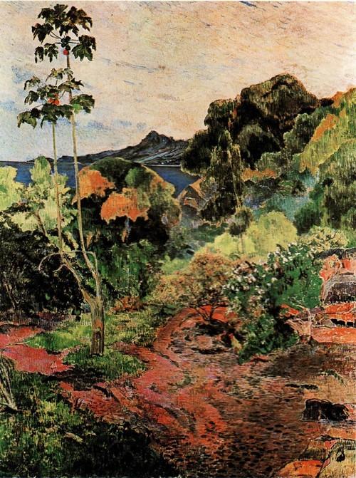 Краски Мартиники «Тропическая растительность» 1887 Эдинбург Национальная галерея Шотландии Этот вид на бухту Сен Пьер
