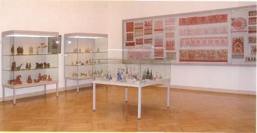 Зал VIII Народное искусство XIX — начало XX века.