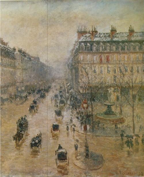 Камиль Писсарро Оперный проезд в Париже. 1898 Холст, масло. 0,65 X 0,82