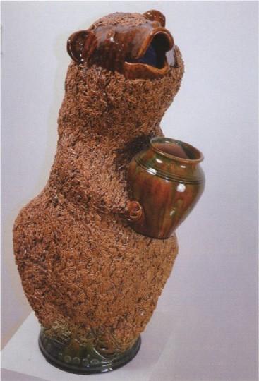 Медведь. С.И. Поляков. 1994, Скопин, Рязанская область.