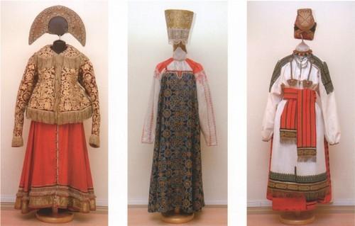 Праздничный костюм XIX века.