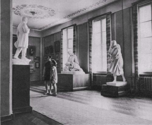 Интерьер второго зала музея Т.Г. Шевченоко.
