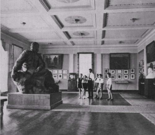 Интерьер третьего зала музея Т.Г. Шевченоко.