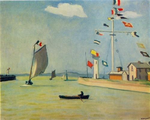 Альбер Марке Порт Гонфлер 1911