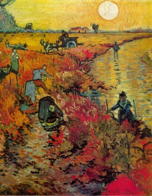 Винсент Ван Гог Красные виноградники в Арле 1888