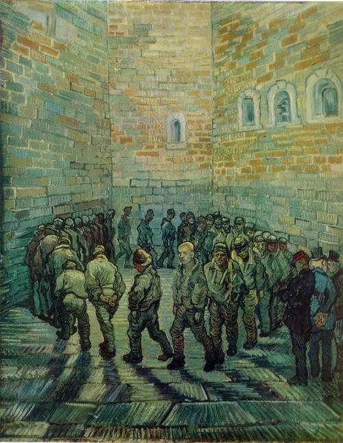 Винсент Ван Гог Прогулка заключенных