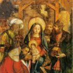 Картина Поклонение волхвов