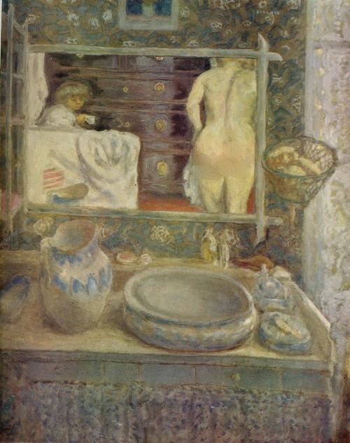 Пьер Баннар Зеркало над умывальником. Около 1903. Холст, масло. 1,20 х 0,97