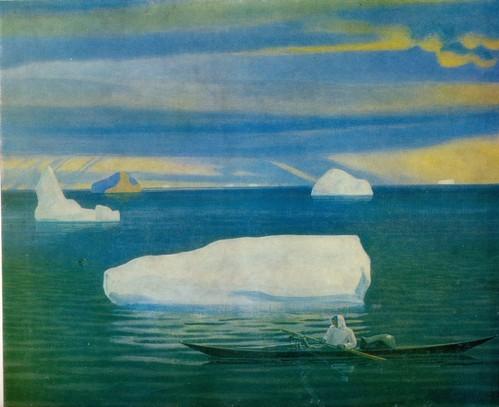 Рокуэл Кент Эскимос в Аляске. 1933