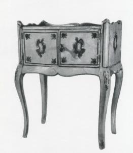 Расписная мебель Руси