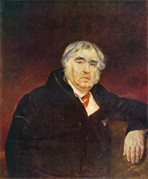 Портрет Крылова