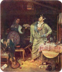 Федотов Свежий кавалер