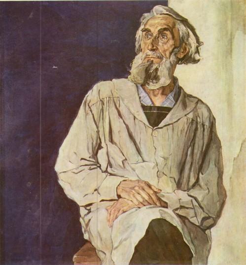 Корни Портрет Коненкова