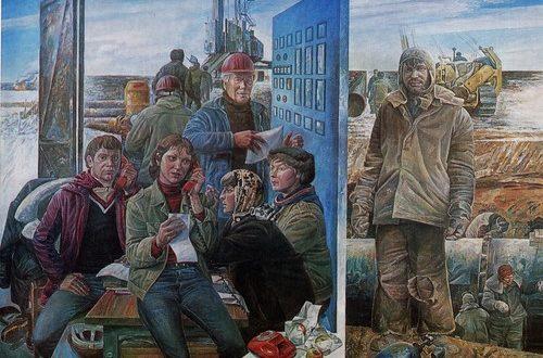 Сибирь в живописи СССР