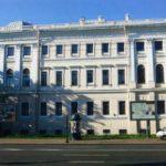 Вид аничкового дворца с Невского проспекта