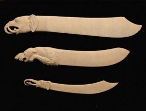 Тобольская резная кость