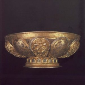 Византийские серебряные чаши XII века
