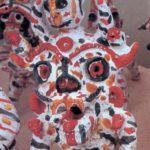Таджикская глиняная игрушка