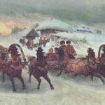 Мордовские сани
