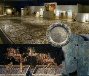 Музей Галло-римской цивилизации, Лион Фурвьер, мозаичный зал