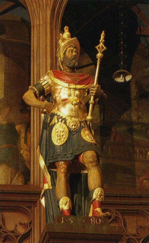 Статуя Луция Мунация Планка - основатель Лиона