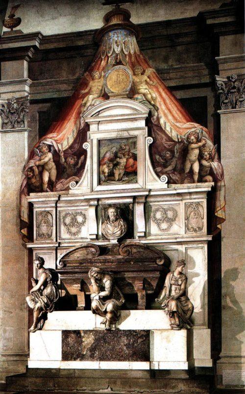 Джорджо Вазари. Надгробный памятник Микеланджело.
